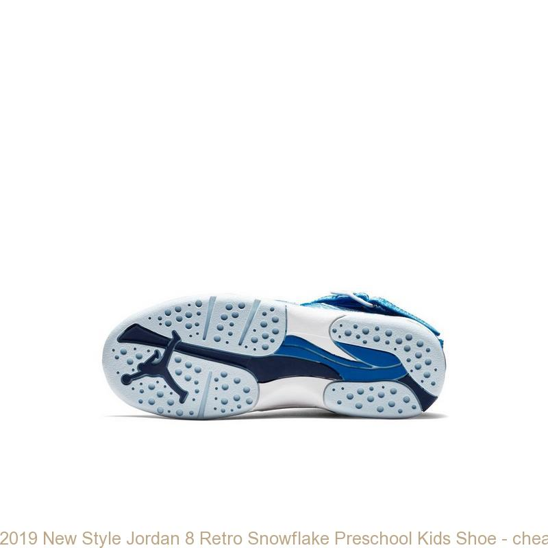 2908f50ee377 2019 New Style Jordan 8 Retro Snowflake Preschool Kids Shoe – cheap ...