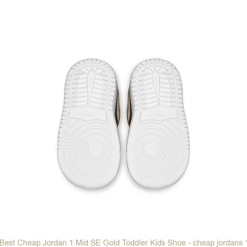 san francisco 4c1eb bfc1e Best Cheap Jordan 1 Mid SE Gold Toddler Kids Shoe - cheap jordans 11 red -  S0392