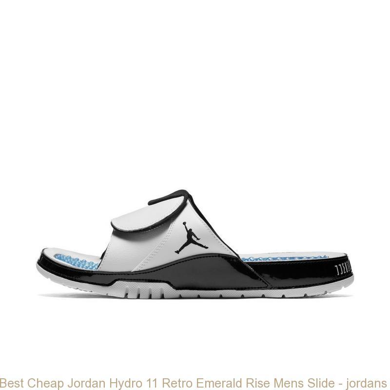 c6e5310384d9 Best Cheap Jordan Hydro 11 Retro Emerald Rise Mens Slide – jordans ...