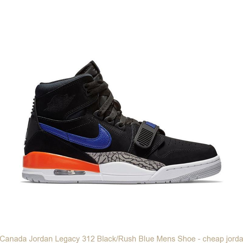 320a60226448e Canada Jordan Legacy 312 Black/Rush Blue Mens Shoe – cheap jordans ...