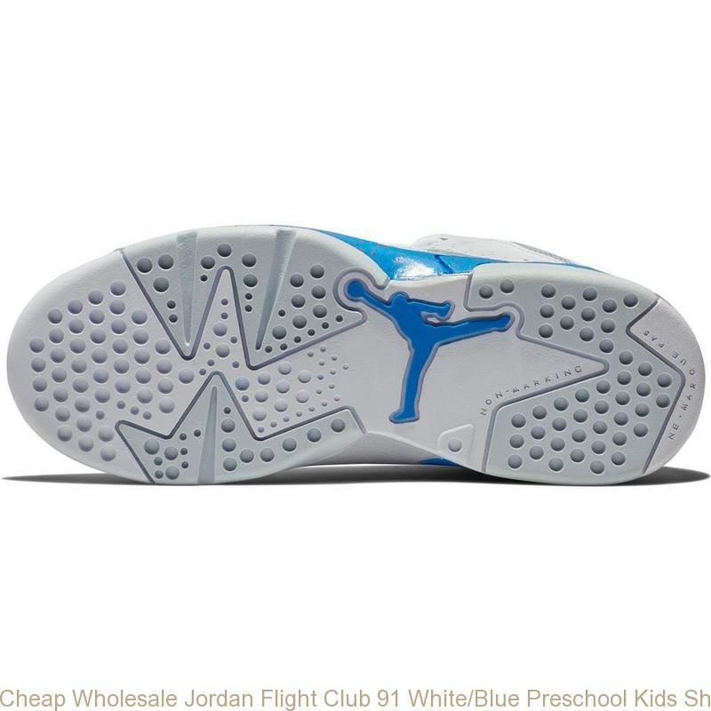 premium selection 18a3b 0d4de Cheap Wholesale Jordan Flight Club 91 White Blue Preschool Kids Shoe –  cheap jordans wholesale free shipping ...