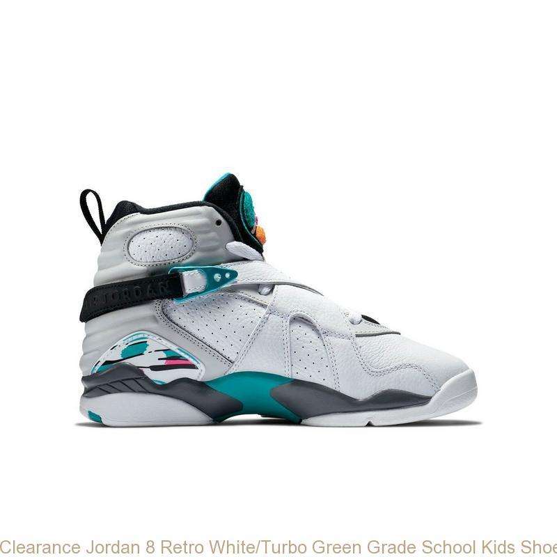 hot sale online a30cd 39467 Clearance Jordan 8 Retro White/Turbo Green Grade School Kids Shoe - cheap  exclusive jordans - R0368