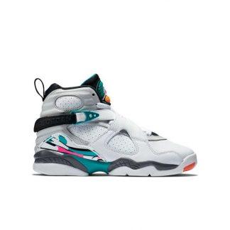 huge discount afbe2 a6305 Clearance Jordan 8 Retro White Turbo Green Grade School Kids Shoe – cheap  exclusive jordans – R0368