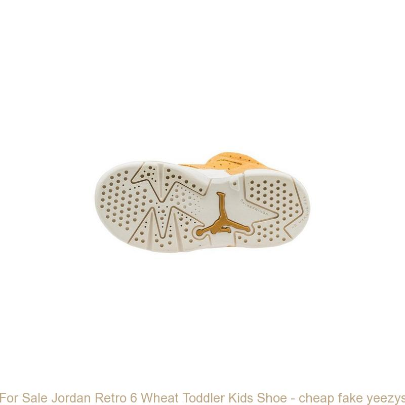 timeless design 7edc2 559d4 For Sale Jordan Retro 6 Wheat Toddler Kids Shoe - cheap fake yeezys for  sale - R0313