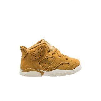 5ef3f48e519 ... For Sale Jordan Retro 6 Wheat Toddler Kids Shoe - cheap fake yeezys for  sale - R0313 ...