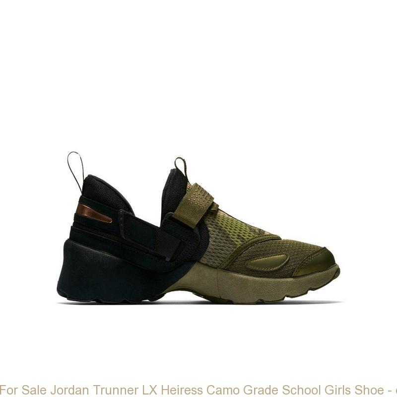 For Sale Jordan Trunner LX Heiress Camo Grade School Girls Shoe ... 53e63805c67e