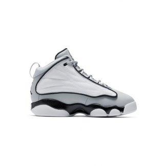 290f104d1b7a98 ... Free Shipping Jordan Pro Strong Wolf Grey White Preschool Boys Shoe - cheapest  nike shoes ever - R0114G ...