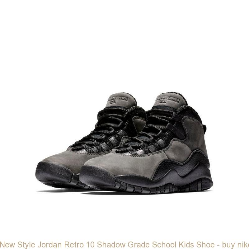 sale retailer 6b007 9cb2a New Style Jordan Retro 10 Shadow Grade School Kids Shoe – buy nike shoes ...