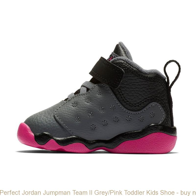 58ff365d4045 Perfect Jordan Jumpman Team II Grey Pink Toddler Kids Shoe – buy ...