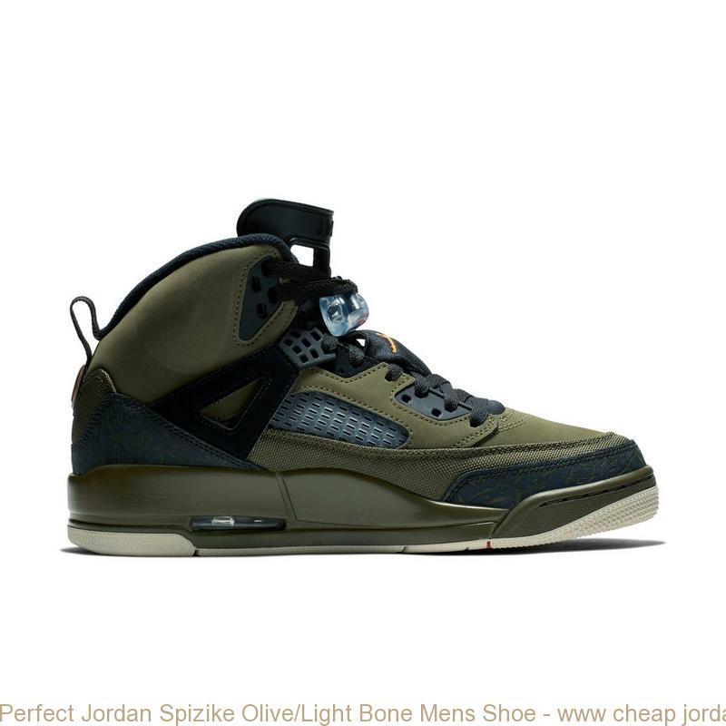 b7271194c Perfect Jordan Spizike Olive Light Bone Mens Shoe – www cheap ...