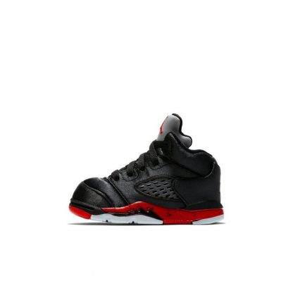 quality design 39037 d106d Perfect Quality Jordan 5 Retro Black Satin Toddler Kids Shoe - where to buy  cheap air jordans - R0250