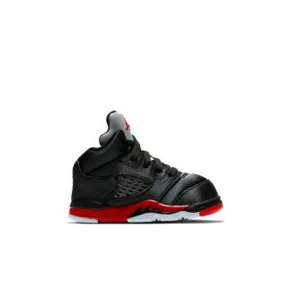 3c8537ad292d8 ... Perfect Quality Jordan 5 Retro Black Satin Toddler Kids Shoe - where to buy  cheap air jordans - R0250 ...
