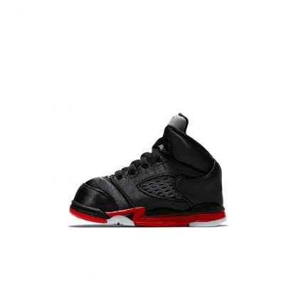 quality design f2439 832b2 Perfect Quality Jordan 5 Retro Black Satin Toddler Kids Shoe - where to buy  cheap air jordans - R0250