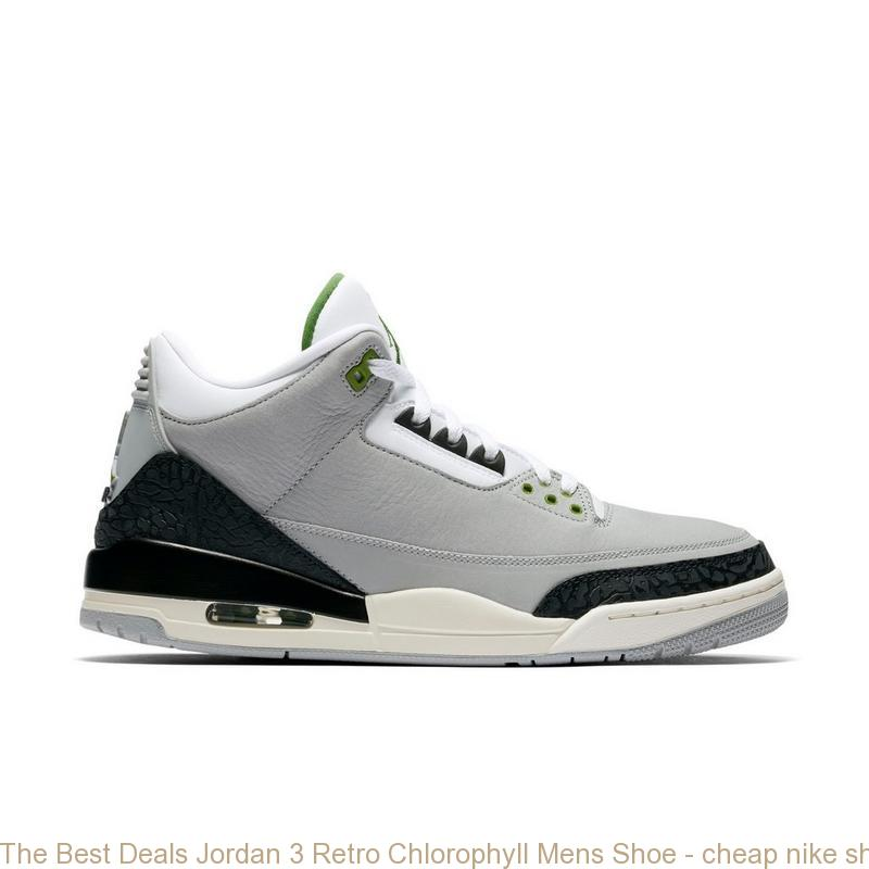 The Best Deals Jordan 3 Retro Chlorophyll Mens Shoe – cheap nike ... 2c279a408b23