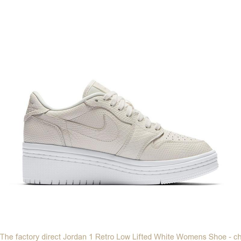 low priced cb448 4223c The factory direct Jordan 1 Retro Low Lifted White Womens Shoe - cheap  jordans 4 sale - Q0216