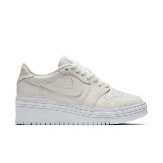 bad6ab318c The factory direct Jordan 1 Retro Low Lifted White Womens Shoe - cheap  jordans 4 sale - Q0216 ...