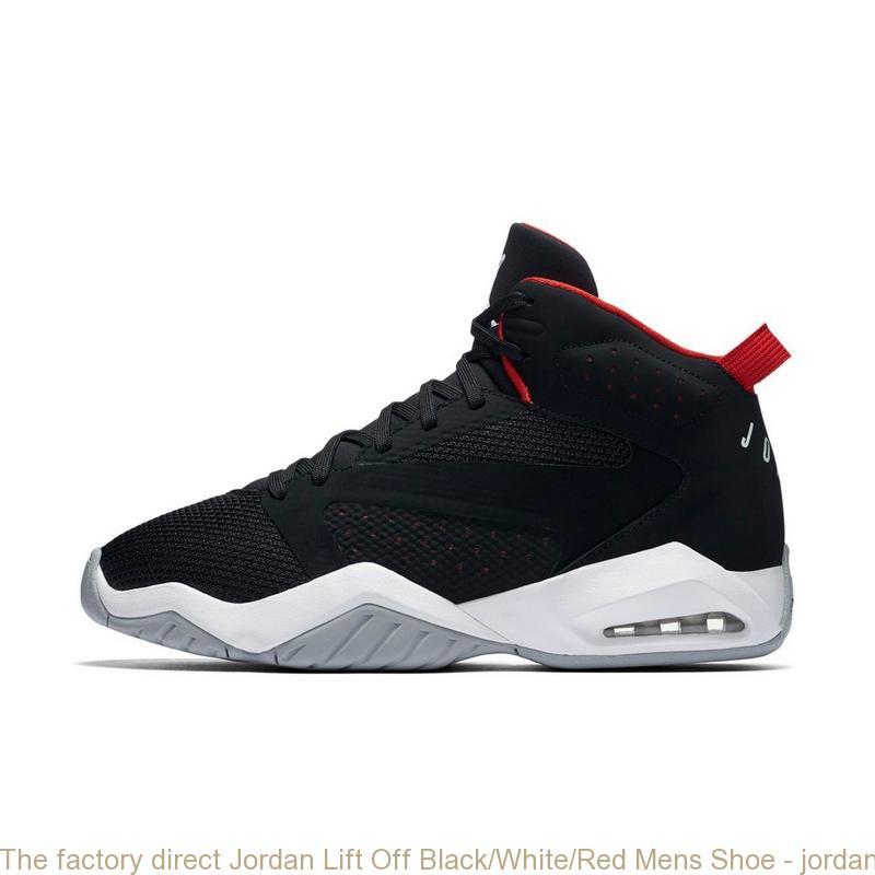 616e2f2c763ebe The factory direct Jordan Lift Off Black White Red Mens Shoe ...