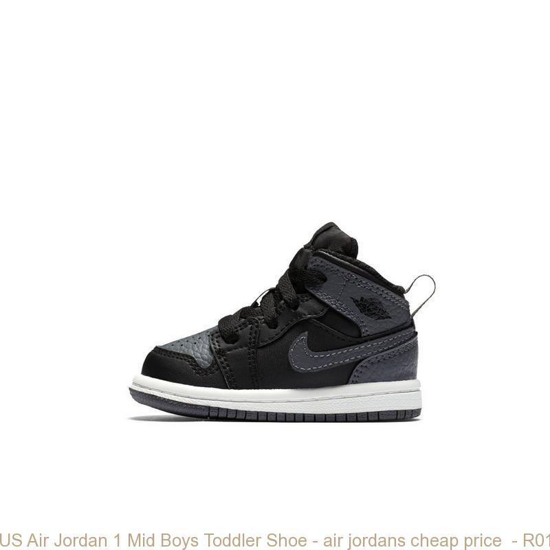 US Air Jordan 1 Mid Boys Toddler Shoe