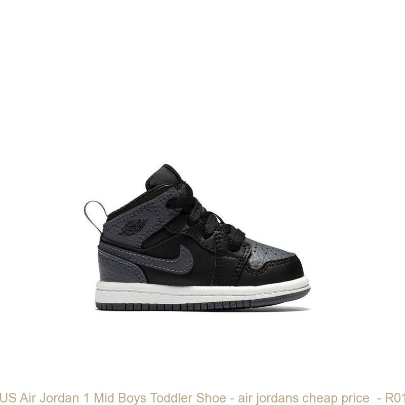 competitive price ea6d6 1cd5b US Air Jordan 1 Mid Boys Toddler Shoe – air jordans cheap ...